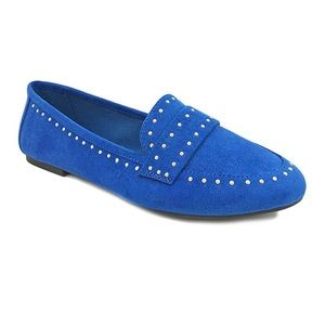 Bamboo Blue Studded Loafer
